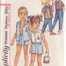 SIMPLICITY PATTERN 5984 CHILD'S SHIRT AND PANTS IN 2 LENGTHS SIZE 2