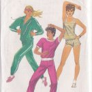 SIMPLICITY PATTERN 5931 MISSES' PANTS, SHORTS, PULLOVER TOP, JACKET SIZES 6-8-10