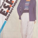 SIMPLICITY PATTERN 5927 MISSES' PULL-ON PANTS, UNLINED JACKET SIZES 10-12-14
