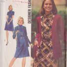 SIMPLICITY PATTERN 5908 MISSES' DRESS AND UNLINED CARDIGAN JACKET SIZE 16