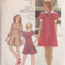 SIMPLICITY PATTERN 5903 MISSES' SHORT DRESS SIZE 14