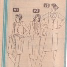 SIMPLICITY 9834 PATTERN MISSES' STRAIGHT LEG TROUSERS, SKIRT, COAT SIZE 14