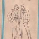 SIMPLICITY 9771 PATTERN MISSES' STRAIGHT LEG TROUSERS, LINED JACKET SIZE 14