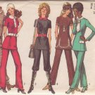 SIMPLICITY 9508 PATTERN DATED 1971 MISSES' TUNIC & PANTS SZ 10
