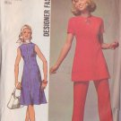 SIMPLICITY 9456 PATTERN MISSES' DRESS OR TUNIC, PANTS SIZE 12