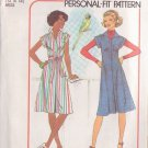 SIMPLICITY 7578 PATTERN MISSES' DRESS OR JUMPER SIZES 12 & 14 UNCUT