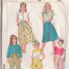SIMPLICITY 7405 PATTERN PANTS, CULOTTES IN 2 LENGTHS, SKIRT SIZE 8