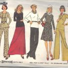 Simplicity 6612 Pattern 1974 misses skirt 2 lengths pull-over top, pants size 16