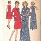 SIMPLICITY 6559 PATTERN MISSES' DRESS IN 2 LENGTHS AND JACKET SIZE 12