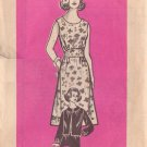 PRINTED PATTERN 9022 MISSES' DRESS AND JACKET SIZE 14 1/2