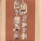 PRINTED PATTERN 4809 MISSES' BLOUSE in 8 VARIATIONS SIZE 12