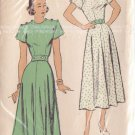 NEW YORK UNPRINTED PATTERN 338 MISSES' ONE PIECE DRESS 2 VARIATIONS SIZE 14