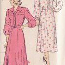 NEW YORK UNPRINTED PATTERN 325 MISSES' ONE PIECE DRESS 2 VARIATIONS SIZE 40
