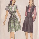 DuBARRY PATTERN 6098 MISSES' JUMPER AND BLOUSE 2 VARIATIONS SIZE 12 UNUSED