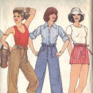 BUTTERICK PATTERN 5902 MISSES' PANTS AND SHORTS SIZE SMALL