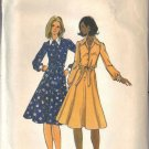 BUTTERICK PATTERN 5733, MISSES' DRESS AND BELT SIZE 14