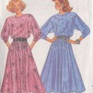 BUTTERICK PATTERN 5722, MISSES' DRESS IN TWO LENGTHS SIZES PETITE/SM/MED