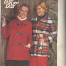 BUTTERICK PATTERN 5635 MISSES' JACKET IN 2 STYLES SIZE 16