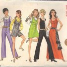 BUTTERICK PATTERN 5558 MISSES' JUMPER AND JUMPSUIT  5 VARIATIONS SIZE 8 UNCUT