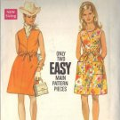 BUTTERICK PATTERN 5246 MISSES' ONE PIECE DRESS IN TWO VARIATIONS SZ 14