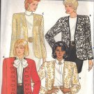 BUTTERICK PATTERN 4479, MISSES' JACKET IN 3 VARIATIONS SZ 6