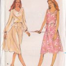BUTTERICK PATTERN 3551 MISSES' TOP, SKIRT, SLIP IN 2 VARIATIONS SIZE 14 UNCUT
