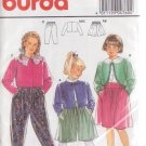 BURDA PRINTED PATTERN 4760 GIRL'S JACKET, SKIRT, PANTS SIZES 4/6/8/10 UNCUT