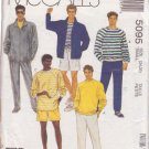 McCALL'S PATTERN 5095 MEN'S JACKET, SWEATSHIRT, PANTS OR SHORTS SIZE SMALL 34/36