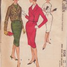 McCALL'S VINTAGE PATTERN 5138 MISSES' JACKET, SKIRT, BLOUSE SIZE 14