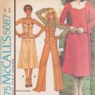 McCALL'S PATTERN 5687 MISSES' JACKET, VEST, SKIRT, PANTS SIZE 8 UNCUT