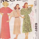 McCALL'S PATTERN 6397 MISSES' DRESS IN 2 LENGTHS SIZE 10