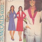 McCALL'S PATTERN 6022 MISSES' JACKET, BLOUSE, SKIRT AND PANTS SIZE 8 UNCUT