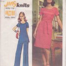 SIMPLICITY 5556 VINTAGE PATTERN MISSES' DRESS OR TUNIC, PANTS SIZE 14
