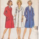 SIMPLICITY 5526 VINTAGE PATTERN MISSES' COAT IN 2 VARIATIONS SIZE 16