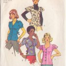 SIMPLICITY VINTAGE PATTERN 5803 MISSES' SET OF BLOUSES IN 3 VARIATIONS SZ 8