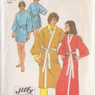 SIMPLICITY VINTAGE PATTERN 5685 MEN'S KIMONO ROBE IN 2 LENGTHS SIZE MEDIUM 38/40