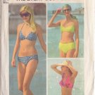 SIMPLICITY VINTAGE PATTERN 5576 MISSES' EVERY BODY SET OF BIKINIS SIZE MD 12/14