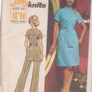 SIMPLICITY VINTAGE PATTERN 5557 MISSES' DRESS OR TUNIC, PANTS SIZE 16 UNCUT