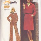 SIMPLICITY 5898 VINTAGE PATTERN MISSES' KNIT DRESS, TOP, PANTS SIZE 14