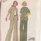 SIMPLICITY 6529 PATTERN DATED 1974 MISSES' JACKET & PANTS SZ 12
