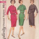 SIMPLICITY 5575 VINTAGE PATTERN MISSES' DRESS IN 3 VARIATIONS SIZE 14
