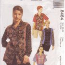 McCALL'S PATTERN 8464 MISSES' TOP IN 2 LENGTHS SIZE XL 20/22 UNCUT