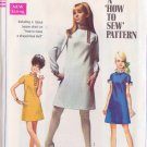 SIMPLICITY VINTAGE PATTERN 7737 JR/PET DRESS IN 2 LENTHS, 3 VARIATIONS SIZE 9JP
