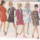 SIMPLICITY VINTAGE PATTERN 7751 MISSES' DRESS IN 4 VARIATIONS SIZE 10