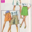 SIMPLICITY PATTERN 7687 MISSES' SKIRT OR PANTSKIRT IN 2 LENGTHS SIZE 25 1/2