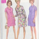 SIMPLICITY PATTERN 7729 MISSES' STEP IN DRESS AND COAT DRESS SIZE 16 1/2