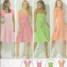 SIMPLICITY PATTERN 4224 MISSES DRESS W/SKIRT VARIATIONS,SHRUG,BELT SZS 6 THRU 14