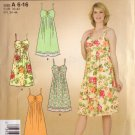 SIMPLICITY PATTERN 3722 MISSES DRESS IN 2 VARIATIONS SZS 6 THRU 16 UNCUT