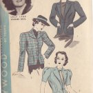 HOLLYWOOD PATTERN 1666, 1930'S JACKETS SIZE 18 LOLA LANE