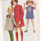 SIMPLICITY VINTAGE PATTERN 7835 GIRL'S SHIRT DRESSIN 3 VARIATIONS SIZE 10